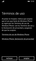 Nokia Lumia 635 - Primeros pasos - Activar el equipo - Paso 7