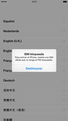 Apple iPhone 6 Plus iOS 8 - Primeros pasos - Activar el equipo - Paso 3