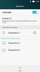 Huawei Y5 - Connection - Conectar dispositivos a través de Bluetooth - Paso 8