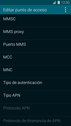 Samsung G900F Galaxy S5 - MMS - Configurar el equipo para mensajes multimedia - Paso 11