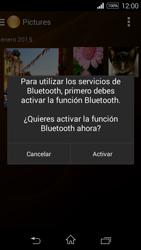 Sony D2203 Xperia E3 - Connection - Transferir archivos a través de Bluetooth - Paso 13