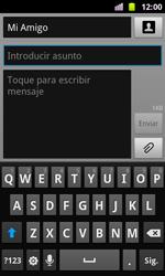 Samsung I8160 Galaxy Ace II - MMS - Escribir y enviar un mensaje multimedia - Paso 9