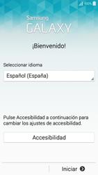 Samsung A500FU Galaxy A5 - Primeros pasos - Activar el equipo - Paso 3