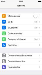 Apple iPhone 5s - Internet - Activar o desactivar la conexión de datos - Paso 3