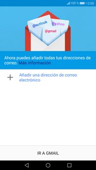 Huawei Mate 9 - E-mail - Configurar Gmail - Paso 5
