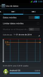 BQ Aquaris 5 HD - Internet - Ver uso de datos - Paso 9