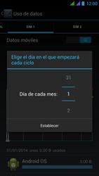 BQ Aquaris 5 HD - Internet - Ver uso de datos - Paso 8