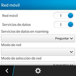 BlackBerry Q5 - Internet - Configurar Internet - Paso 7