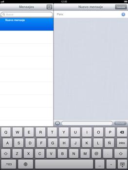Apple iPad 2 - MMS - Escribir y enviar un mensaje multimedia - Paso 4