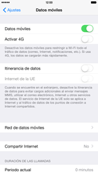 Apple iPhone 6 Plus iOS 8 - Internet - Configurar Internet - Paso 5
