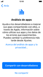 Apple iPhone 5s - iOS 11 - Primeros pasos - Activar el equipo - Paso 25