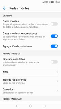 Huawei Mate 9 - Internet - Activar o desactivar la conexión de datos - Paso 6