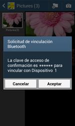 Samsung S7580 Galaxy Trend Plus - Connection - Transferir archivos a través de Bluetooth - Paso 13