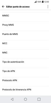 LG Q6 - MMS - Configurar el equipo para mensajes multimedia - Paso 14