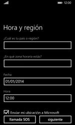 Nokia Lumia 635 - Primeros pasos - Activar el equipo - Paso 19