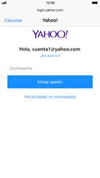 Apple iPhone 6 iOS 11 - E-mail - Configurar Yahoo! - Paso 7