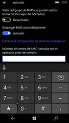 Microsoft Lumia 950 - MMS - Configurar el equipo para mensajes de texto - Paso 7