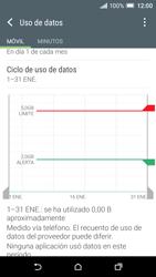 HTC One A9 - Internet - Ver uso de datos - Paso 11