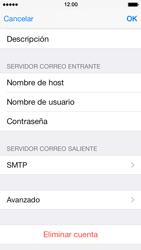 Apple iPhone 5s - E-mail - Configurar correo electrónico - Paso 16