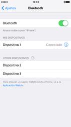 Apple iPhone 6 iOS 10 - Connection - Conectar dispositivos a través de Bluetooth - Paso 6