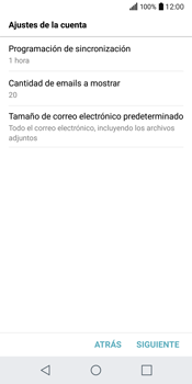 LG Q6 - E-mail - Configurar correo electrónico - Paso 19
