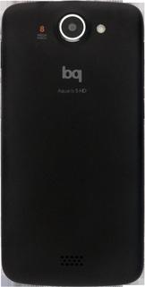 BQ Aquaris 5 HD - Primeros pasos - Quitar y colocar la batería - Paso 5