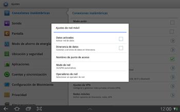 Samsung P7500 Galaxy Tab 10-1 - MMS - Configurar el equipo para mensajes multimedia - Paso 6