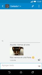 HTC One M8 - MMS - Escribir y enviar un mensaje multimedia - Paso 19