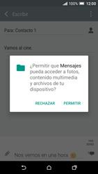 HTC One A9 - MMS - Escribir y enviar un mensaje multimedia - Paso 14