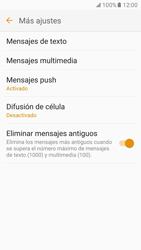 Samsung Galaxy S7 - MMS - Configurar el equipo para mensajes de texto - Paso 7