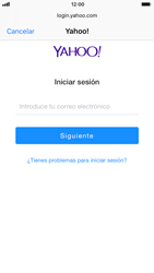 Apple iPhone 6s iOS 11 - E-mail - Configurar Yahoo! - Paso 6