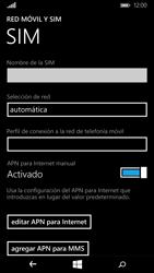 Microsoft Lumia 640 - Internet - Configurar Internet - Paso 8