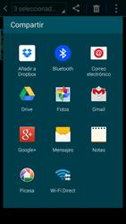 Samsung G900F Galaxy S5 - Connection - Transferir archivos a través de Bluetooth - Paso 9