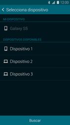 Samsung G900F Galaxy S5 - Connection - Transferir archivos a través de Bluetooth - Paso 11