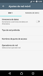 Sony Xperia XA1 - MMS - Configurar el equipo para mensajes multimedia - Paso 6