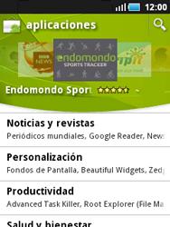 Samsung S5570 Galaxy Mini - Aplicaciones - Descargar aplicaciones - Paso 14