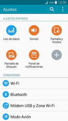 Samsung A500FU Galaxy A5 - Red - Activar o desactivar el modo avión - Paso 4