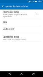 HTC One M9 - MMS - Configurar el equipo para mensajes multimedia - Paso 5