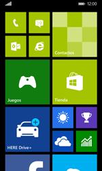 Nokia Lumia 635 - Red - Activar o desactivar el modo avión - Paso 1