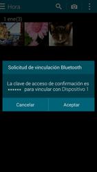 Samsung G900F Galaxy S5 - Connection - Transferir archivos a través de Bluetooth - Paso 12