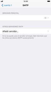 Apple iPhone 7 Plus iOS 11 - E-mail - Configurar correo electrónico - Paso 17