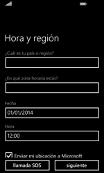 Nokia Lumia 635 - Primeros pasos - Activar el equipo - Paso 11
