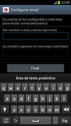 Samsung I9300 Galaxy S III - E-mail - Configurar correo electrónico - Paso 16