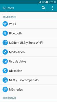 Samsung N910F Galaxy Note 4 - Internet - Activar o desactivar la conexión de datos - Paso 4