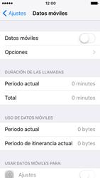 Apple iPhone SE - iOS 10 - Internet - Activar o desactivar la conexión de datos - Paso 5