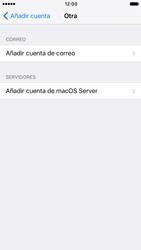Apple iPhone 6 iOS 10 - E-mail - Configurar correo electrónico - Paso 6