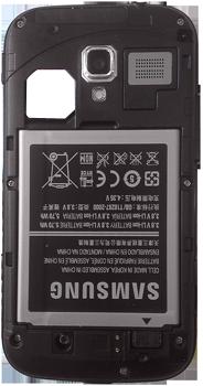 Samsung I8160 Galaxy Ace II - Primeros pasos - Quitar y colocar la batería - Paso 5