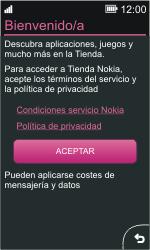 Nokia Asha 311 - Aplicaciones - Tienda de aplicaciones - Paso 3