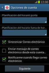 Samsung S6310 Galaxy Young - E-mail - Configurar correo electrónico - Paso 20