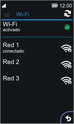 Nokia Asha 311 - WiFi - Conectarse a una red WiFi - Paso 9